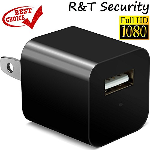 RNT Mini Spy Hidden Camera USB 1080P [2018 model] Wall Charger Spy Camera Adapter Motion Detection Office Home Security