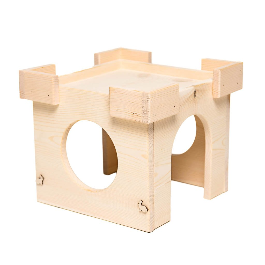 Small Pet Select Handmade - Hideout Castle by Small Pet Select