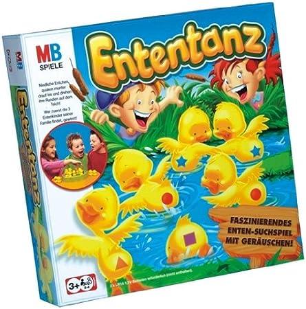Hasbro 00191100 MB Ententanz - Juego de Mesa para niños [Importado de Alemania]: Amazon.es: Juguetes y juegos
