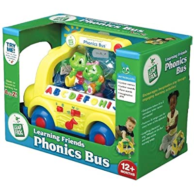 LeapFrog Learning Friends8482; Phonics Bus Vehicle: Toys & Games