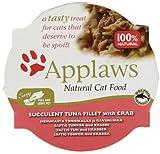 Applaws Cat Food Pot Succulent Tuna with Crab 10 x 60 g
