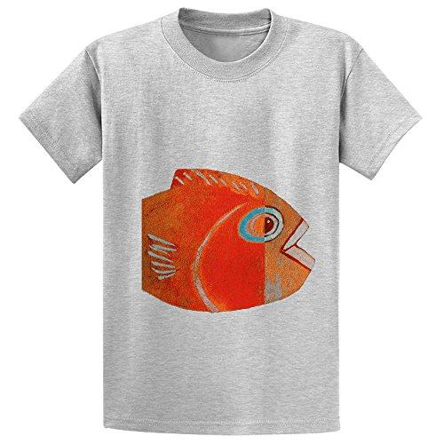 likeu-cabeza-de-fish-youth-graphic-crew-neck-t-shirts-grey