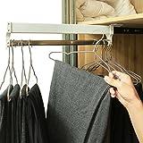 a-inger Extendable Closet Valet Rod Retractable