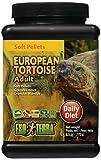 Exo Terra Soft Adult European Tortoise Food, 9.5-Ounce