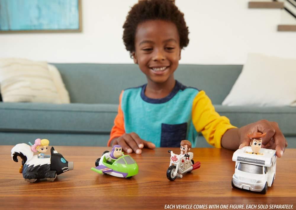 Disney Pixar Toy Story 4 Minis Duke Caboom and Stunt Bike