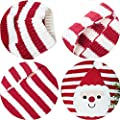 BOBIBI Cat Sweater Christmas Santa Claus Pet Cat Winter Knitwear Warm Clothes