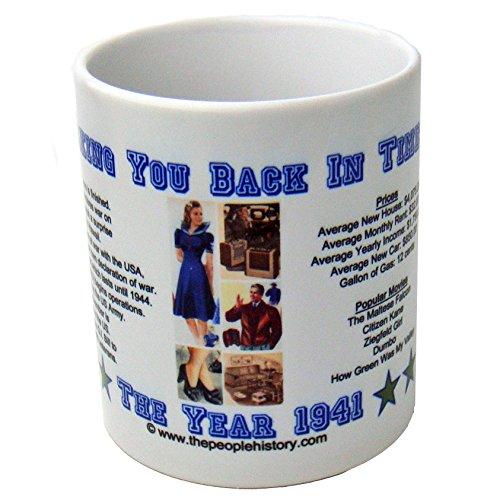1941 Coffee Mug Featuring -1941 Year in History