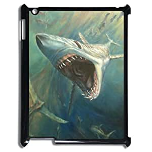 Deep Sea Shark Phone Case For IPad 2,3,4 [Pattern-1]
