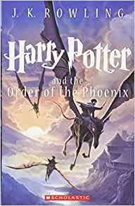 Harry potter and the order book