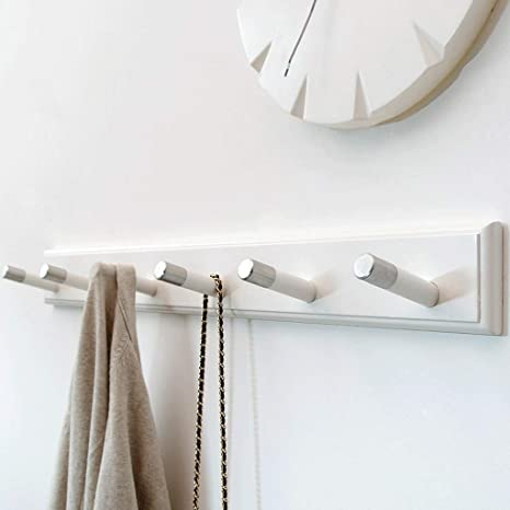 Amazon.com: ZXUE - Perchero de pared simple y creativo para ...