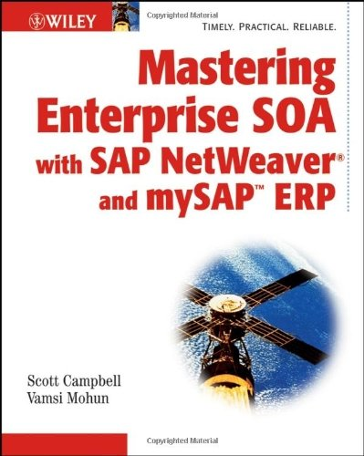 Download Mastering Enterprise SOA with SAP NetWeaver and mySAP ERP: 1st (First) Edition pdf epub