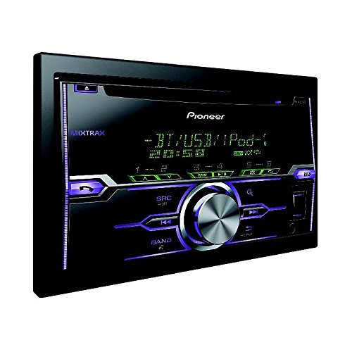 Pioneer FH-X720BT CD-Tuner Autoradio (Bluetooth, USB, Aux-Eingang, unterstü tzt MIXTRAX EZ, Apple iPod/iPhone-Direktsteuerung) schwarz