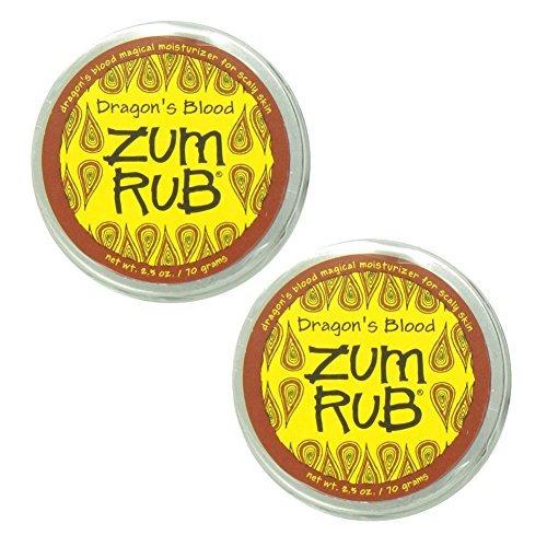 Indigo Wild: Zum Body Rub Goats Milk & Shea Butter Moisturizer for Dry Skin, Dragons Blood 2.5 Oz (2 pack)