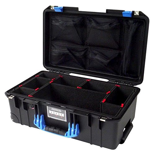 Black & Blue Pelican 1535 Air case, with TrekPak D...
