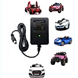 kids 12v battery car - 12V Kids Powered Ride On Car Universal Charger with Charging Indicator Light-For a variety of electric baby carriage ride toy battery supply power adapter