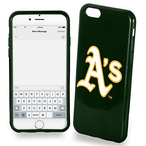 (FOCO Oakland Athletics Solid Ai6 Cover - TPU 4.7