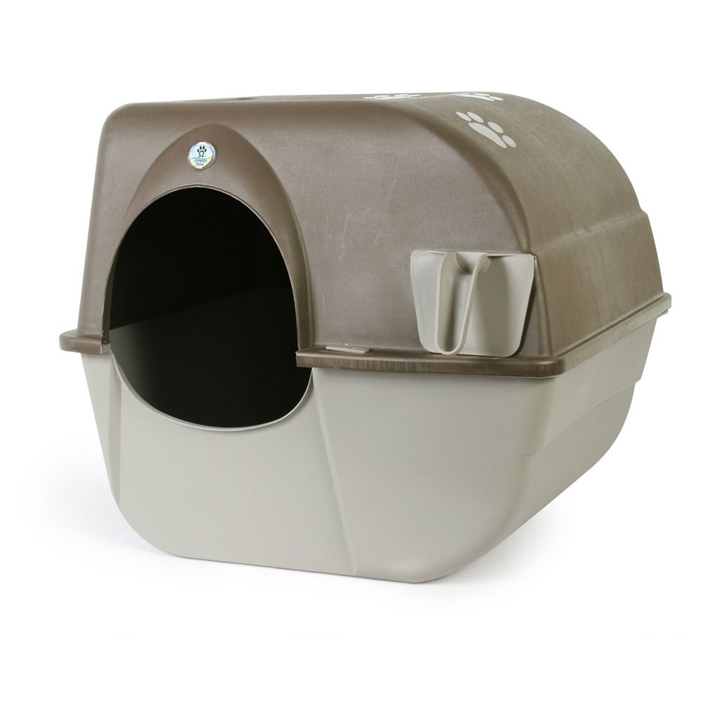 Omega Paw Self Cleaning Litter Box Pewter