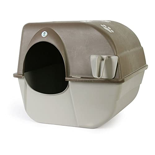 Omega Paw Roll N Clean Self Cleaning Litter Box, Large