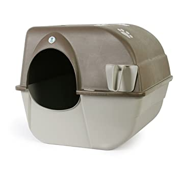 Omega Paw Self-Cleaning Litter Box Pewter  sc 1 st  Amazon.com & Amazon.com : Omega Paw Self-Cleaning Litter Box Pewter : Pet Supplies Aboutintivar.Com