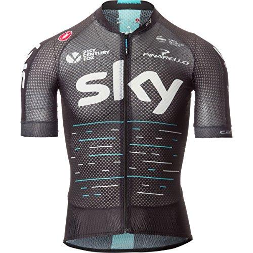 74d89e4c4 Castelli 2017 Men s Team Sky Climbers 2.0 Short Sleeve Cycling Jersey –  V4007002