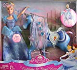 Disney Sparkling Princess Cinderella Doll & Horse Giftset