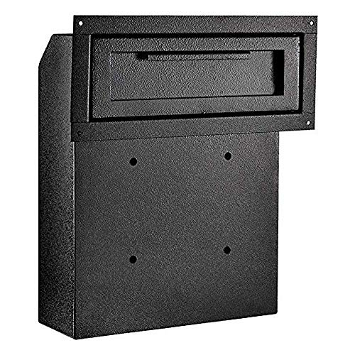 DuraBox Through-The-Door Locking Drop Box D500 (Black) (Main Gate)