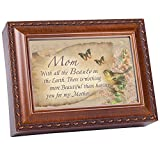 Cottage Garden Music Box – Mom The Beauty Plays You Light Up My Life With Woodgrain Finish Review