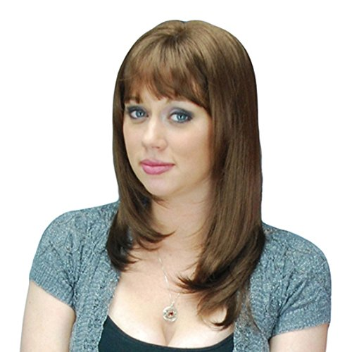 Sepia Kona Light Chesnut Brown (8) Synthetic Wig ()
