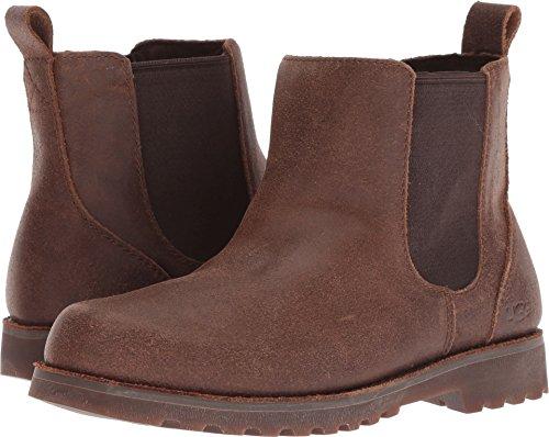 UGG Unisex-Kids K Callum Chelsea Boot, Chocolate, 5 M US Big Kid