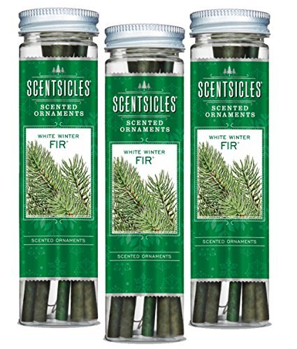 Scentsicles White Winter Fir, 6 Sticks/Bottle (Pack of 3 Bottles) (White Trees Fir)