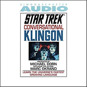 Star Trek: Conversational Klingon (Adapted) Audiobook