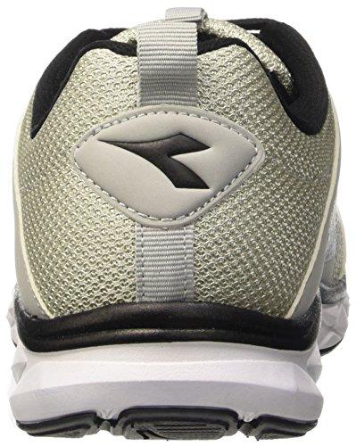 Diadora Hawk 6 - Zapatillas Hombre Gris / Negro