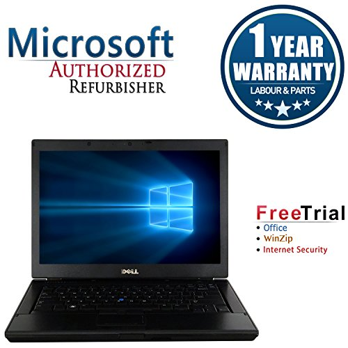 "Dell E6410 14"" Laptop Computer(Intel Core i5 520M 2.4G,4G RAM DDR3,500G HDD,DVD-ROM,Windows 10 Professional)(Certified Refurbished)"