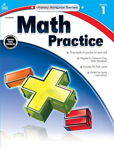 Grade 1st Math Books (Math Practice, Grade 1 (Kelley Wingate))