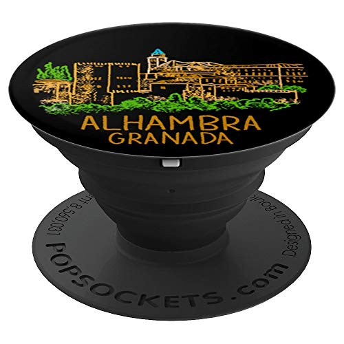 Alhambra Granada - PopSockets Grip and Stand for Phones and Tablets ()
