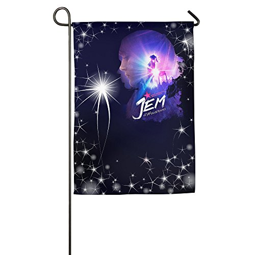 ^GinaR^ Jem And The Holograms Movie 2015 Popular Garden Flag