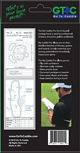 Amazon golf yardage book my caddie pro 3 pack sports outdoors solutioingenieria Gallery