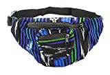Fabric Fanny Pack - Color Patterns May Vary - Handmade in Guatamala