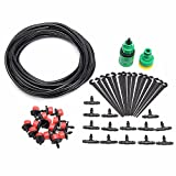 KINGSO 10M Hose Micro Drip Irrigation System Kit Garden Greenhouse Plant Watering Drip Accessories …