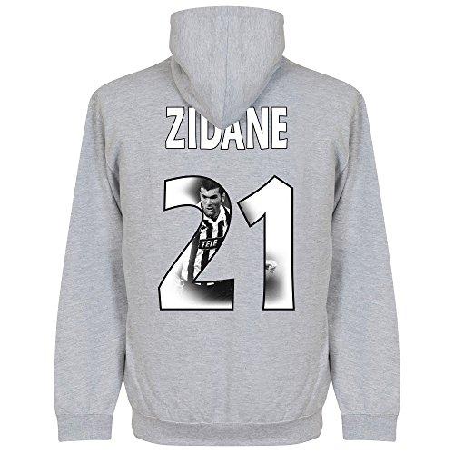 Retake Zidane galleria con cappuccio–grigio