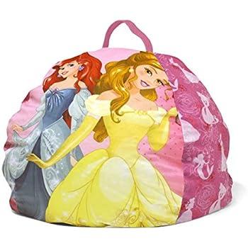 Amazon Com Disney Princess Toddler Bean Bag 18 Quot X 18 Quot X