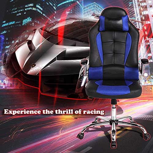 Bestmassage Office Desk Gaming Chair High Back Computer Task Swivel