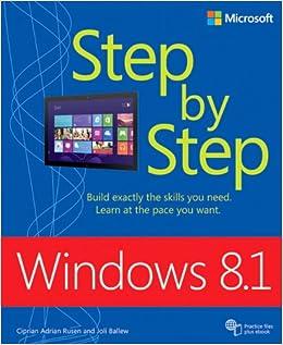 Book Windows 8.1 Step by Step (Step by Step (Microsoft))