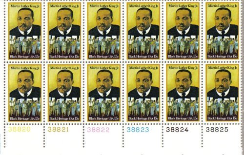 Martin Luther King Stamp - 5