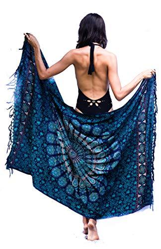 Boho Chic Pareo - Mandala Pareo - Bikini Swimsuit Cover Up- Beach Dress - Wrap