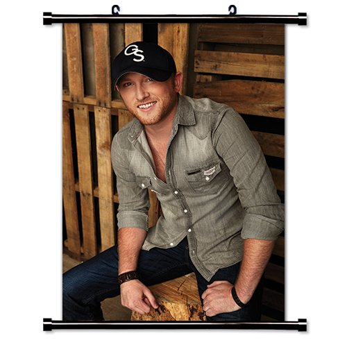 Cole Swindell Country Singer Fabric Wall Scroll Poster (16x24) Inches