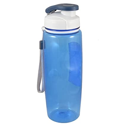 Botella de agua de plástico colador Copa 700ML Clearblue