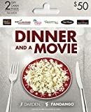Darden-Fangango Dinner and a Movie, Holiday Multipack of 2 - $25