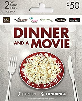Amazon.com: Darden-Fangango Dinner and a Movie, Holiday Multipack ...