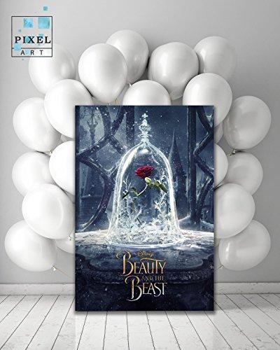 Amazoncom Beauty And The Beast Movie Canvas Print Wall